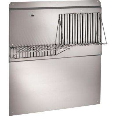 Rangemaster 42 in. Stainless Steel Backsplash