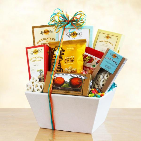 Givens & Company California Snack Sampler Gift GIV-5584