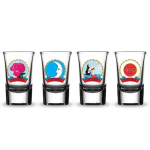 Shot Glasses Female Characters by