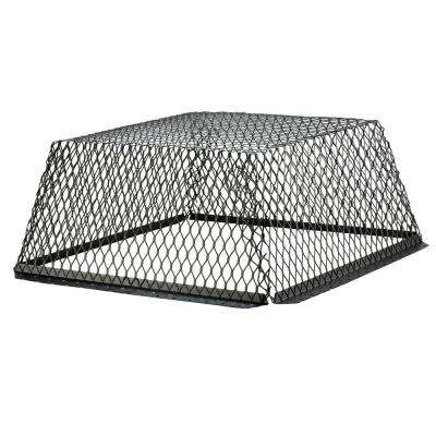 VentGuard 25 in. x 25 in. x 12 in. Roof Wildlife Exclusion Screen in Black
