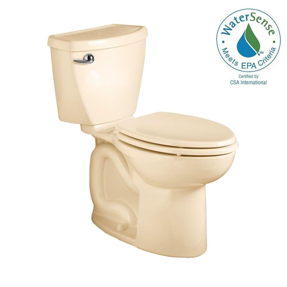 American Standard Cadet 3 Powerwash 2-piece 1.28 GPF Elongated Toilet in Bone