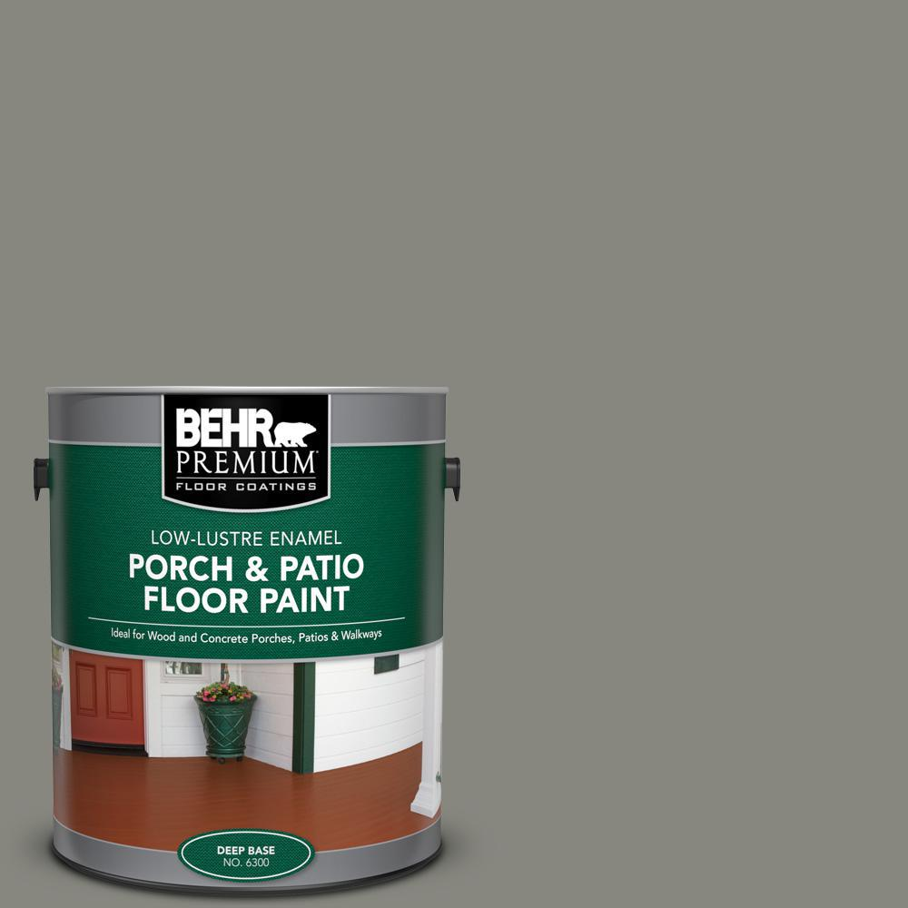 Reviews For Behr Premium 1 Gal Home Decorators Collection Hdc Nt 23 Wet Cement Low Lustre Enamel Interior Exterior Porch And Patio Floor Paint 630001 The Home Depot