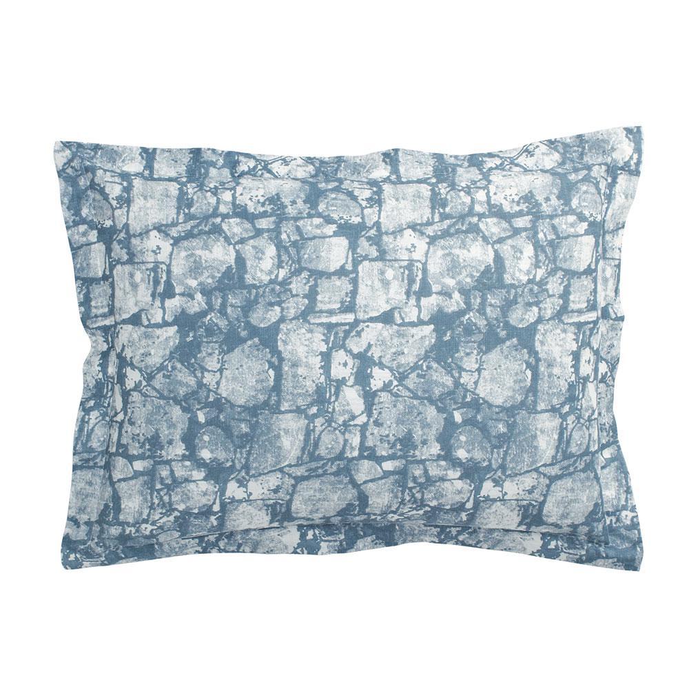 Bluestone Blue 100% Cotton King Sham