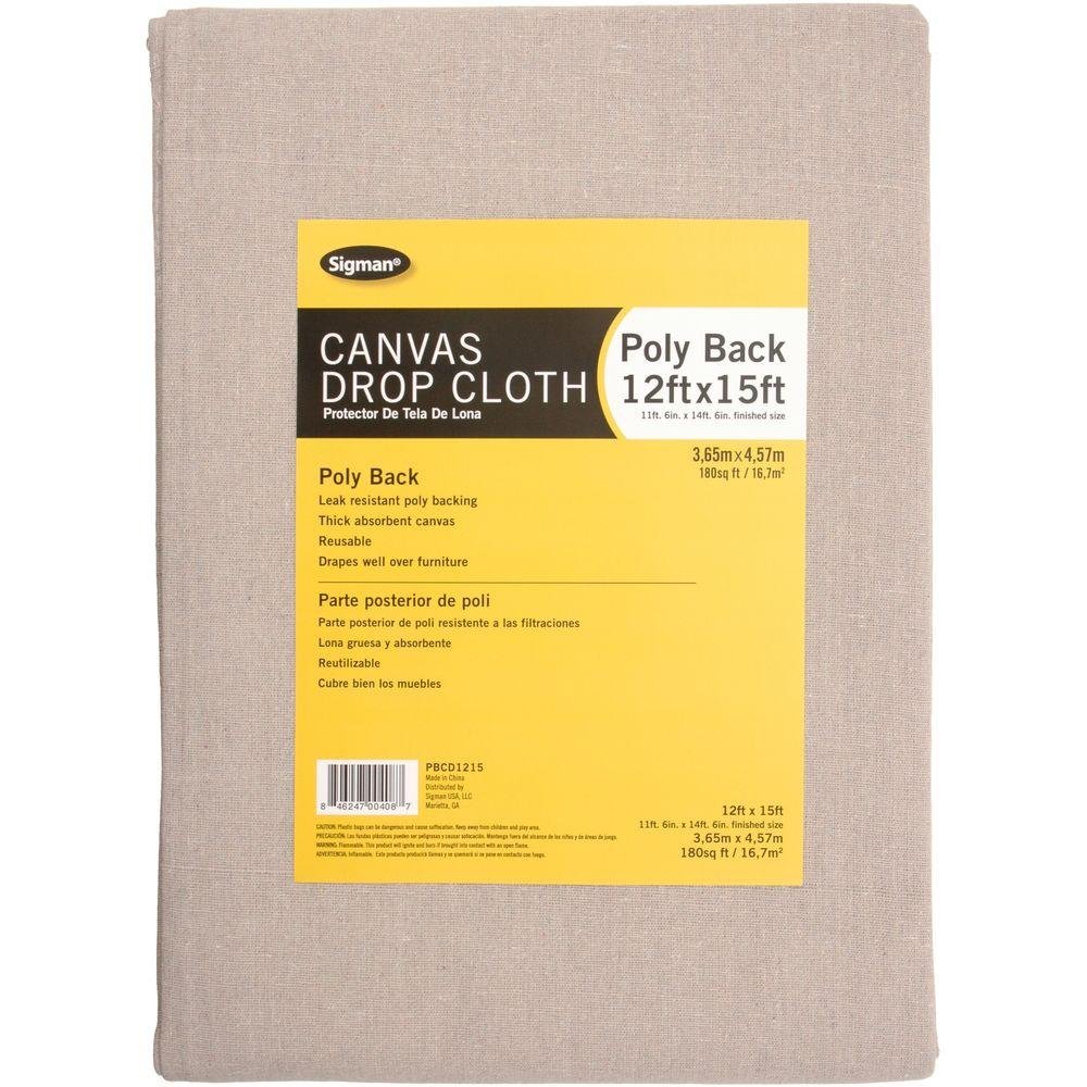 11 ft. 6 in. x 14 ft. 6 in. Poly Back