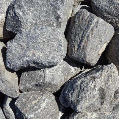 6 in. to 10 in. Sierra Slate Granite Landscaping Cobble (2500 lb. Contractor Pallet)