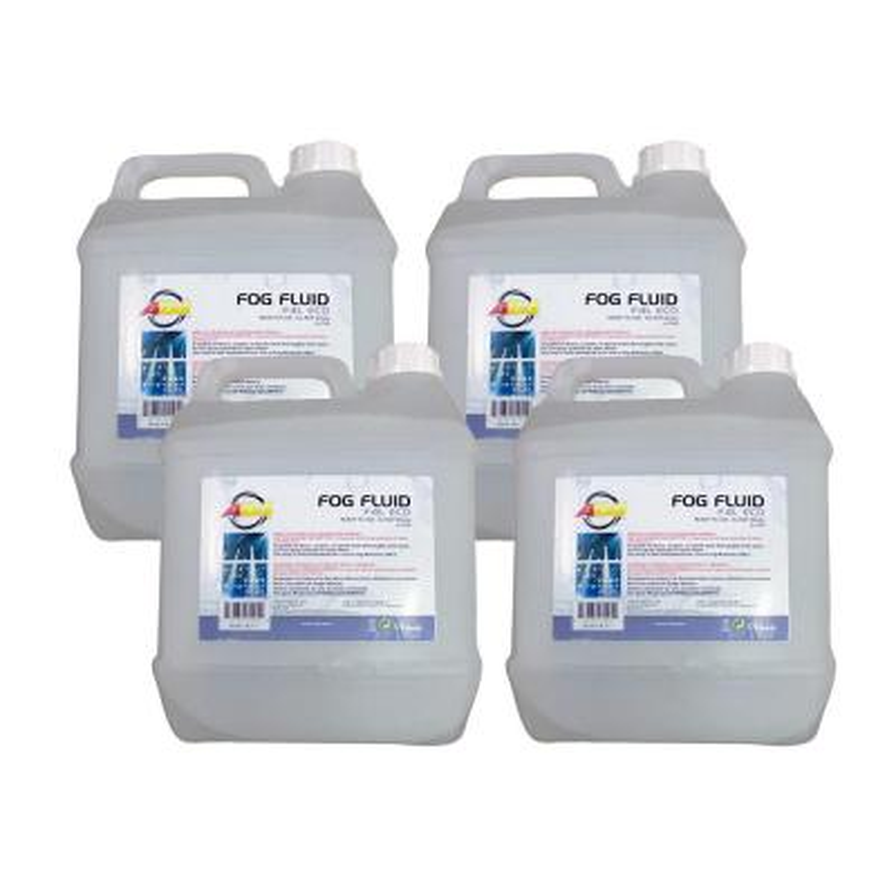 4 l Bottles of Fog/Smoke Machine Liquid Juice