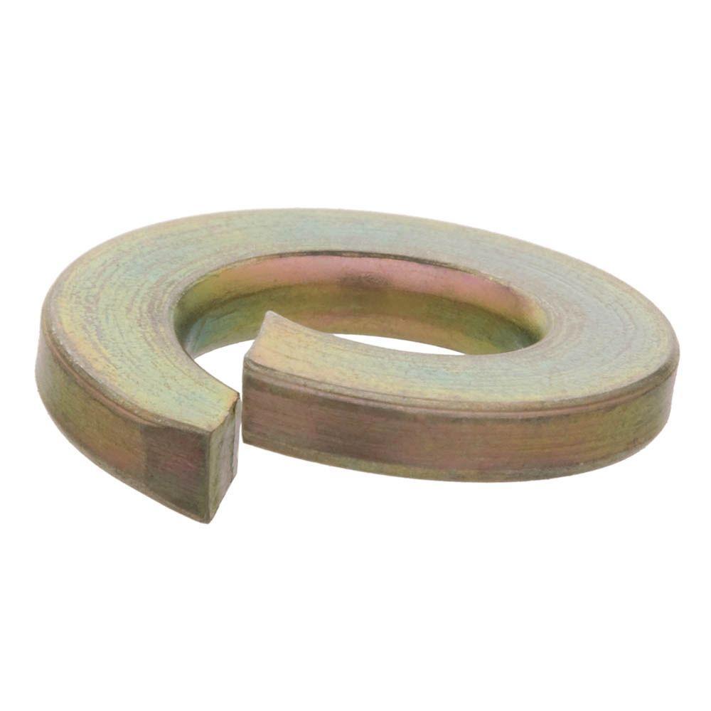 5/16 in. Yellow Zinc Grade 8 Split Lock Washer (4-Piece)