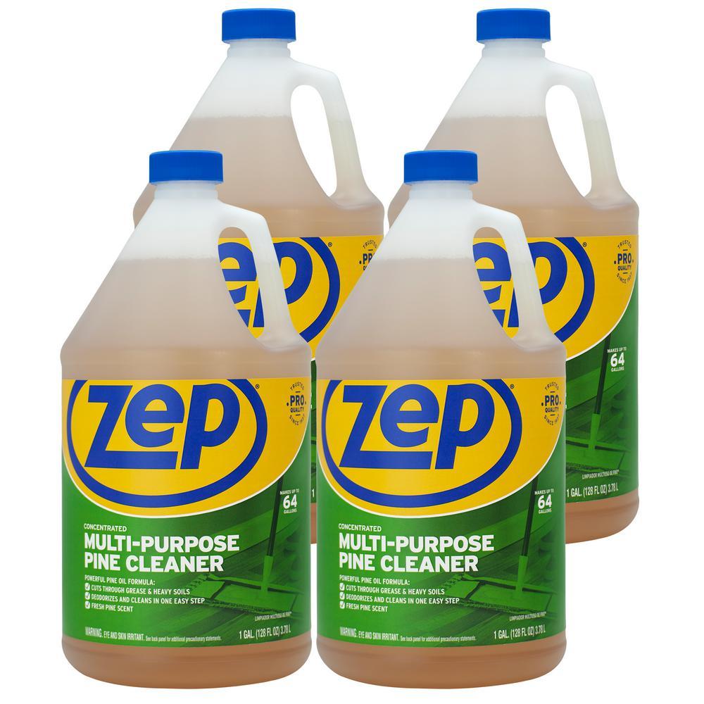 Zep 1 Gallon Pine Multi Purpose Cleaner Case Of 4