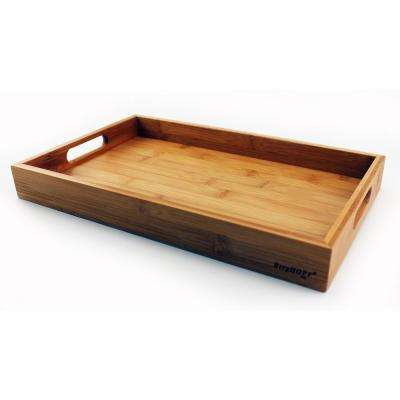 14 in. Bamboo Tray