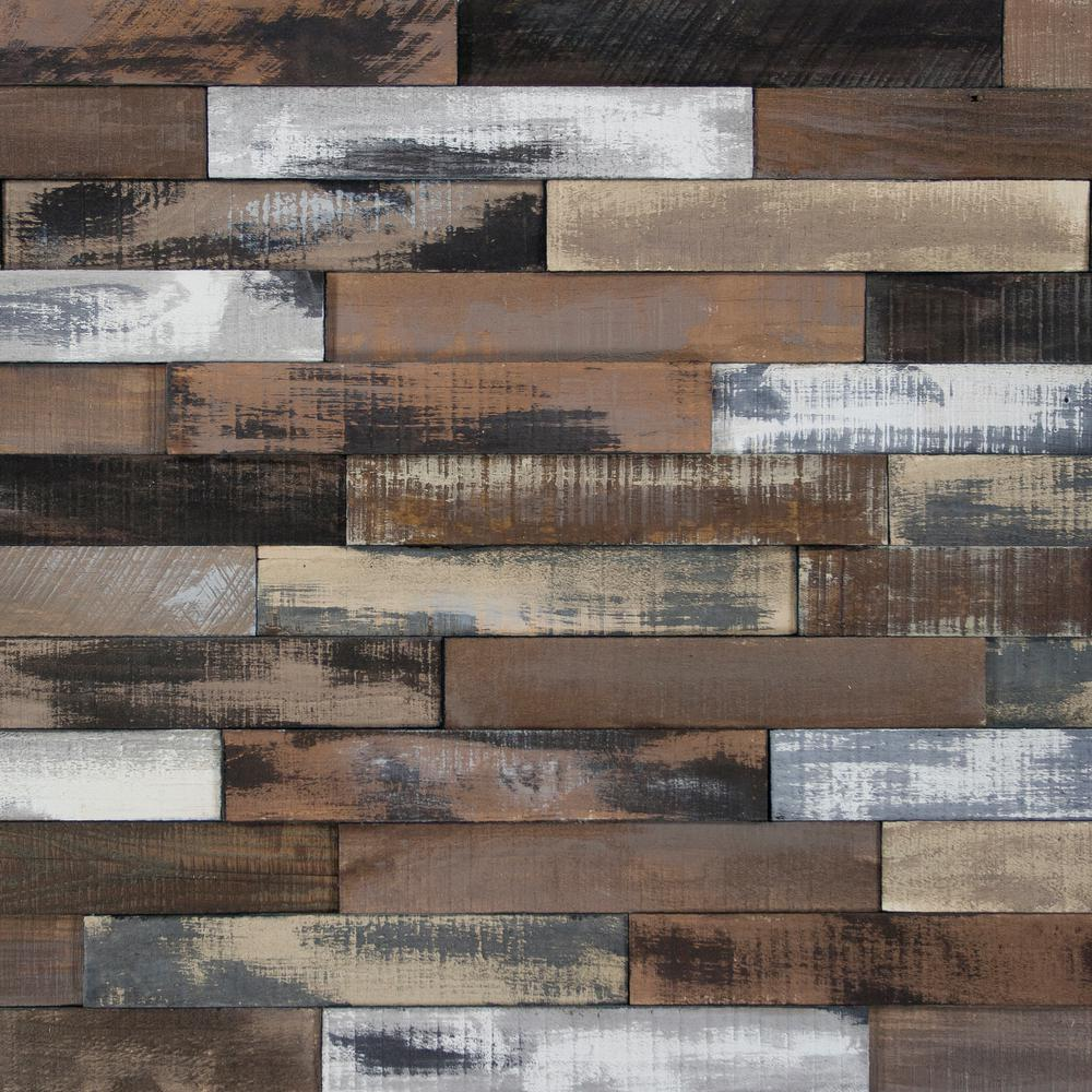 Wood Wall Planks: Deco Planks Weathered Brown