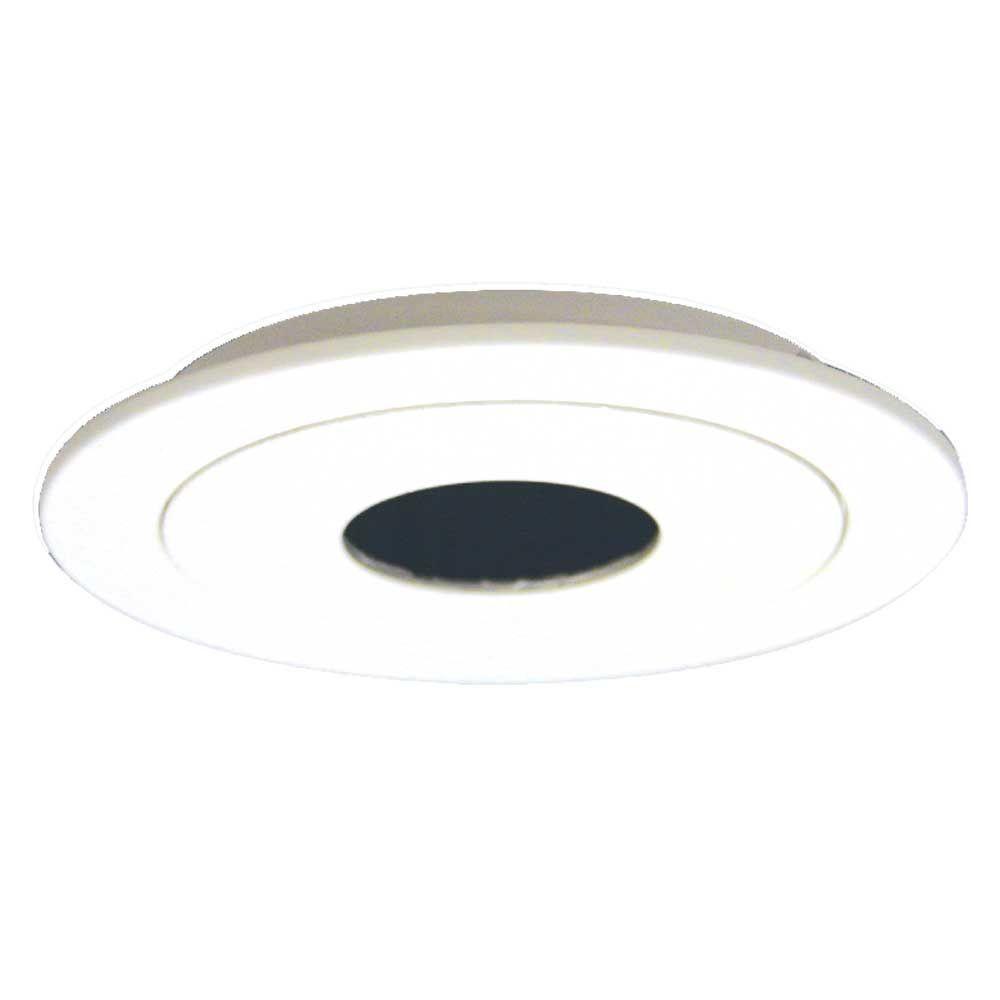 Halo 990 Series 4 in. White Recessed Ceiling Light Pinhole Trim