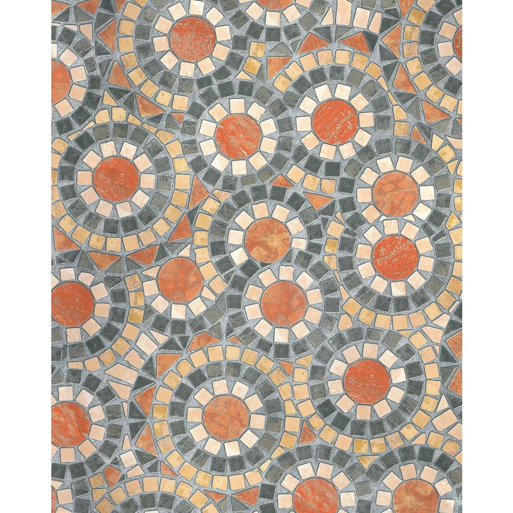 D-C-Fix Tiles 17 in. x 78 in. Home Decor Self Adhesive Film (2-Pack)