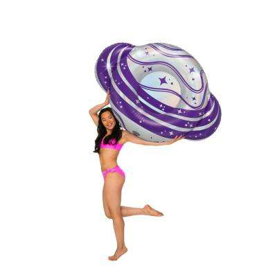 Giant Vinyl Inflatable Planet Summer Pool or Beach Toy PooI Float Includes Patch Kit