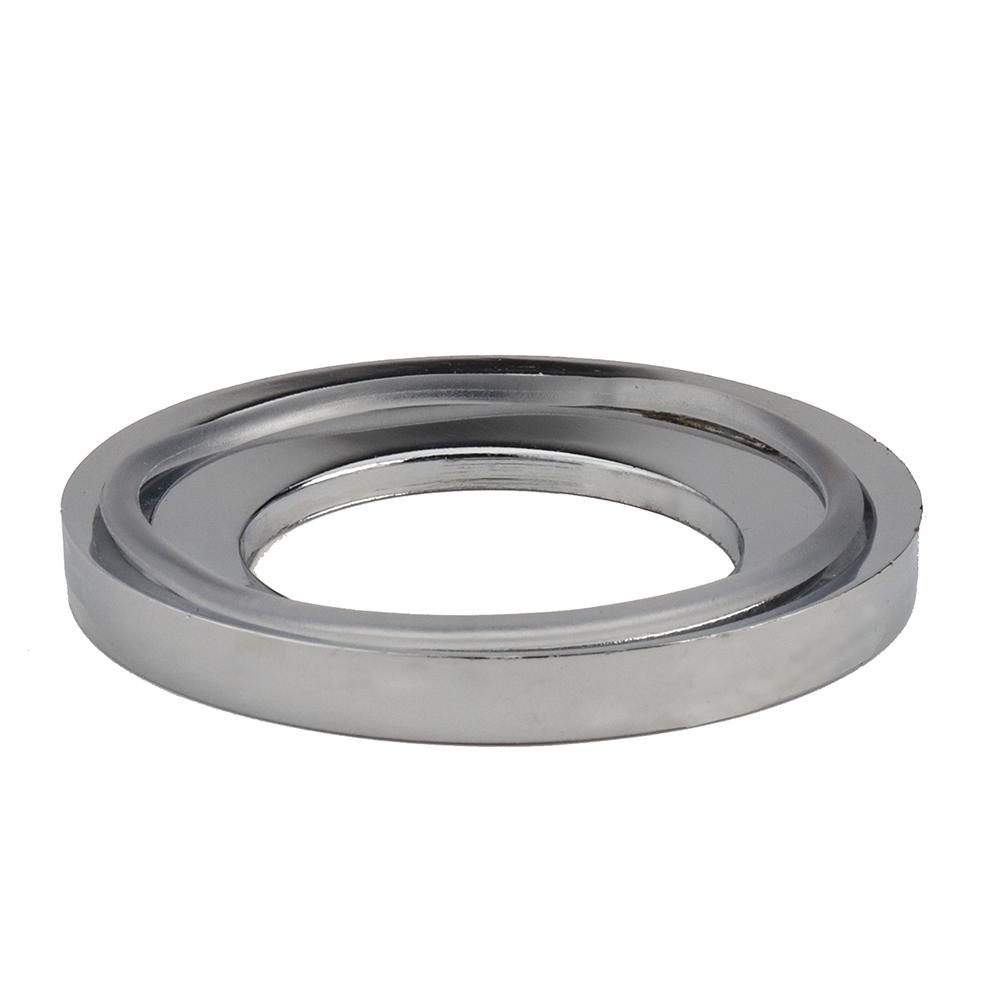 Fontaine Glass Vessel Bathroom Sink Mounting Ring in Chrome