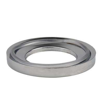 Glass Vessel Bathroom Sink Mounting Ring in Chrome