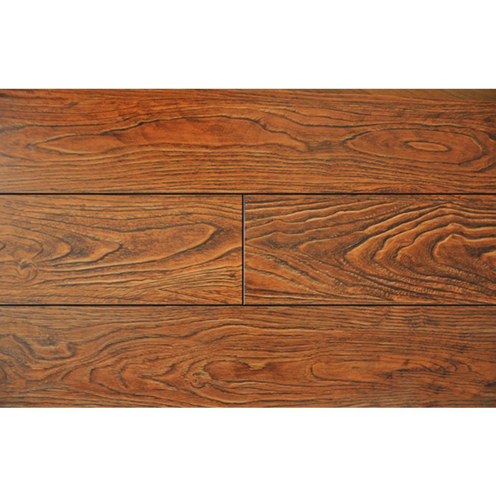 PID Floors Cinnamon Color 15.3 mm Thick x 6-1/2 in. Wide x 48 in. Length Laminate Flooring (20.83 sq. ft./case)