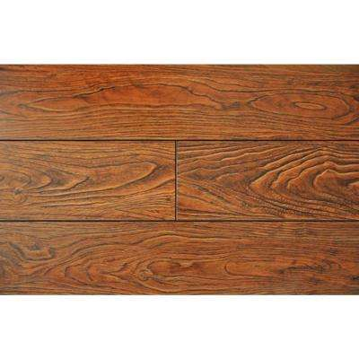 Cinnamon Color 15.3 mm Thick x 6-1/2 in. Wide x 48 in. Length Laminate Flooring (20.83 sq. ft./case)