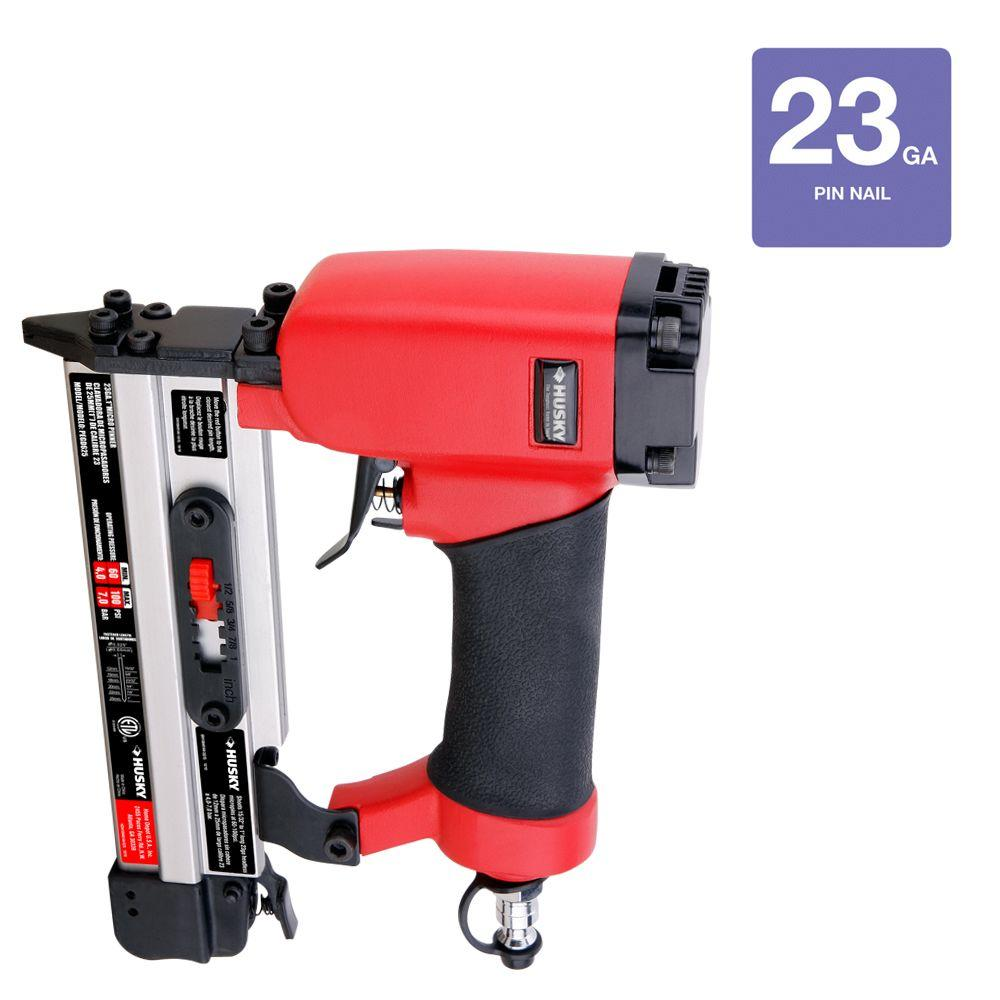 Husky 1 in. Micro Pin Nailer