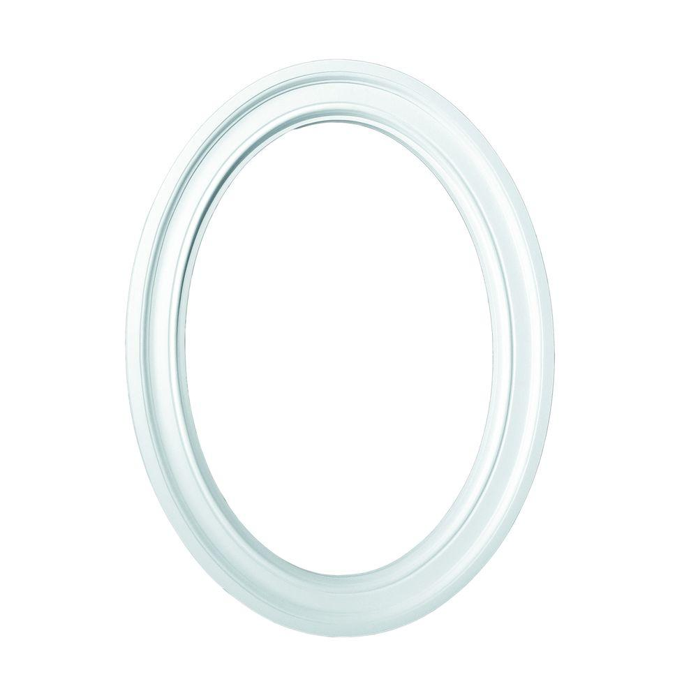 36-1/16 in. x 24-1/8 in. x 1-3/4 in. Polyurethane Decorative Oval