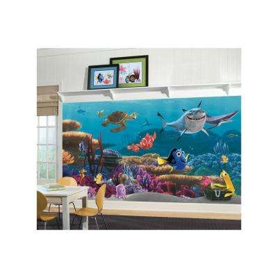 72 in. x 126 in. Finding Nemo Wall Mural