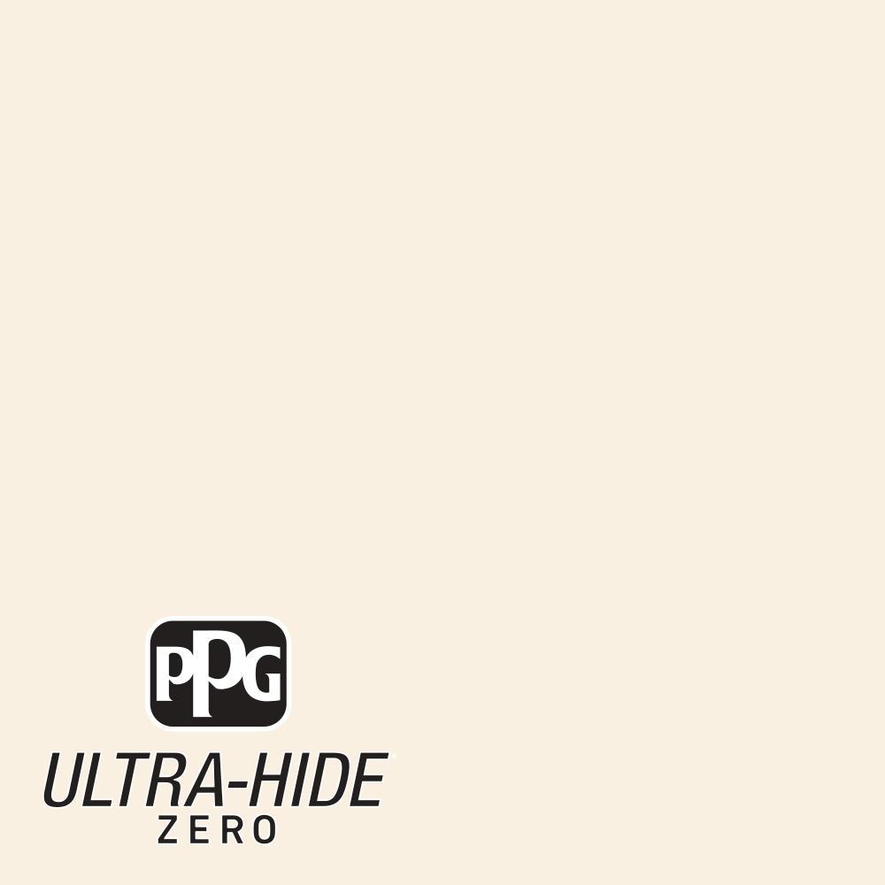 PPG 5 gal. #HDPWN44 Ultra-Hide Zero Arizona White Eggshell Interior Paint