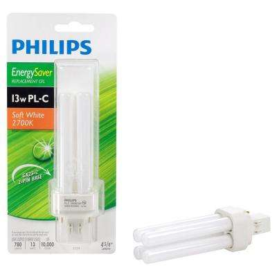 13-Watt Soft White (2,700K) CFLni 2-Pin GX23-2 CFL Light Bulb