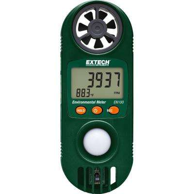 11-in-1 Environmental Meters with Light Sensor