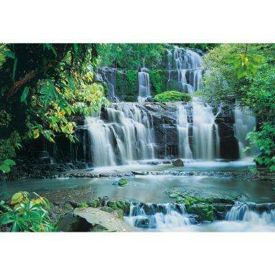 145 in. x 100in. Purakaunui Falls Waterfall Mural
