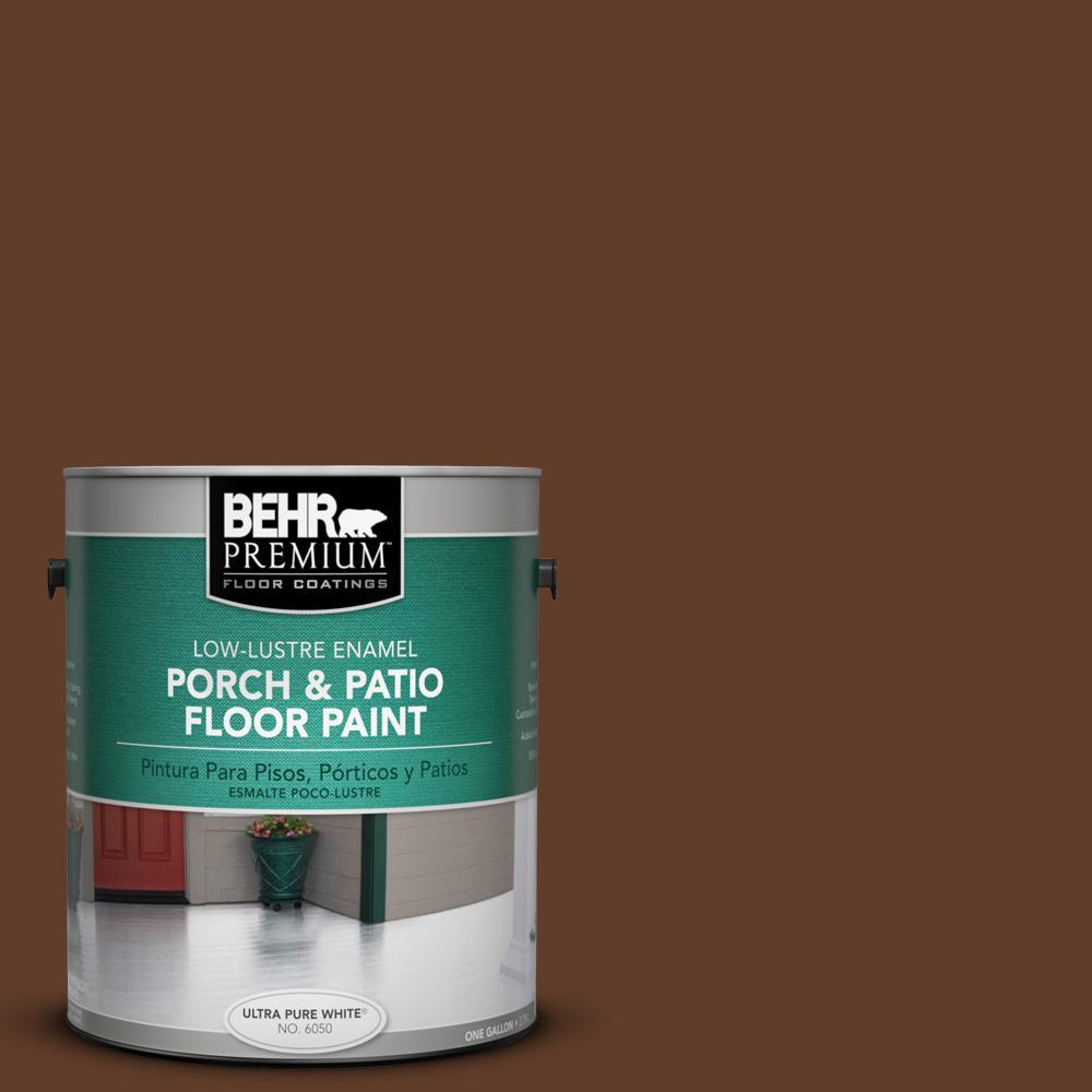 1 gal. #SC-135 Sable Low-Lustre Porch and Patio Floor Paint