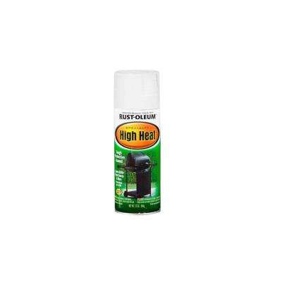 12 oz. White High Heat Spray Paint (6-Pack)