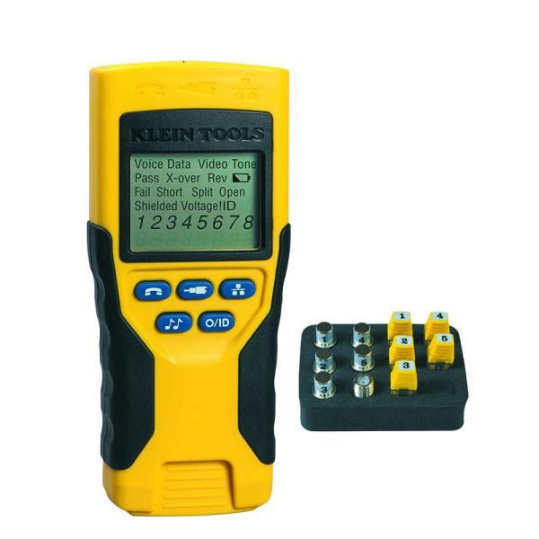 Klein Tools VDV 501-823R Scout Pro 2 Multi-Purpose Tester for Voice, Data, Video Cables and More (New Open Box)