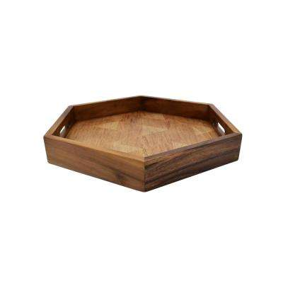Zesho Hexagon Serve Tray