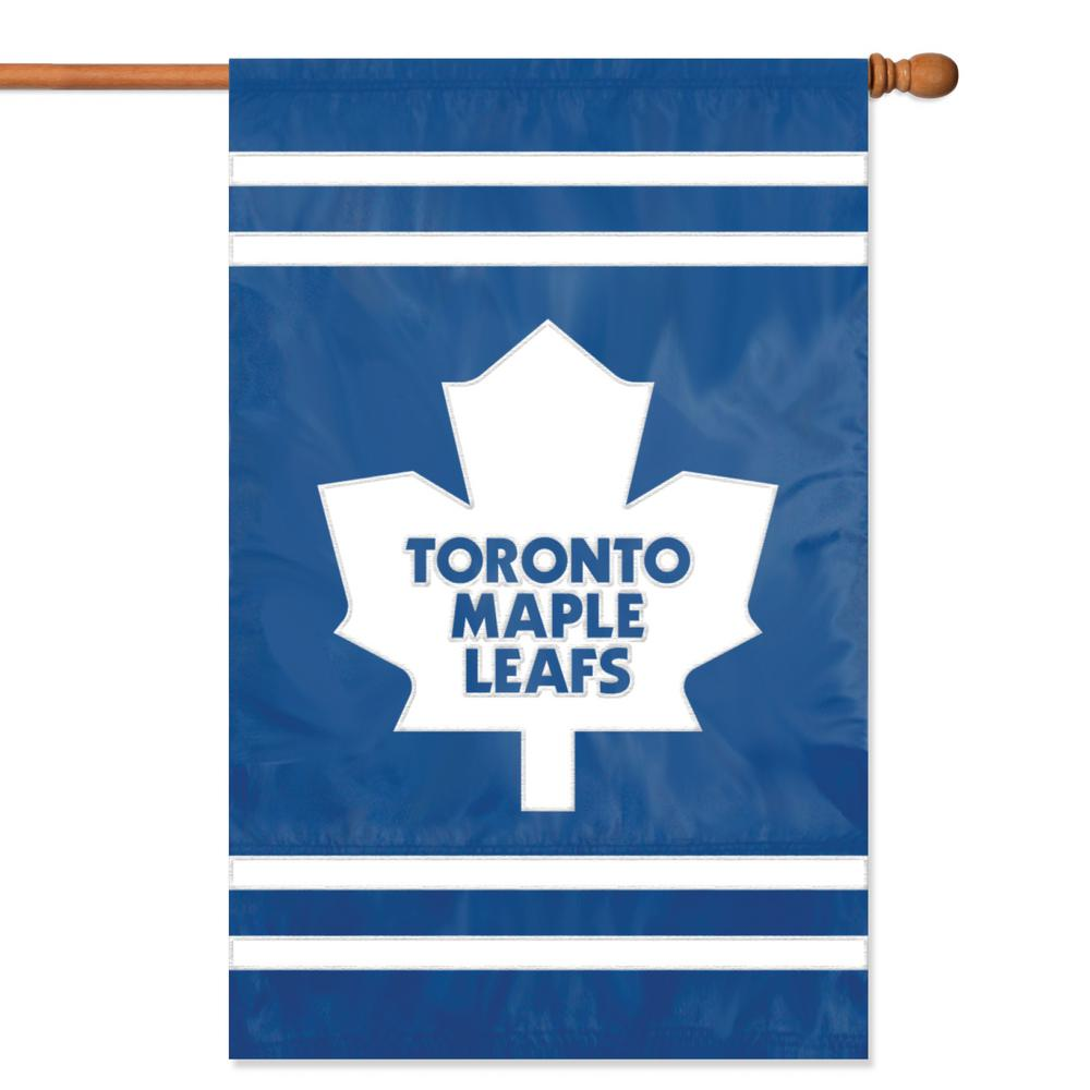 Party Animal Toronto Maple Leafs Applique Banner Flag-AFMAP - The ... 22a340b8b