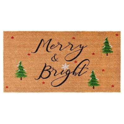 30 in. x 48 in. Yule Door Mat