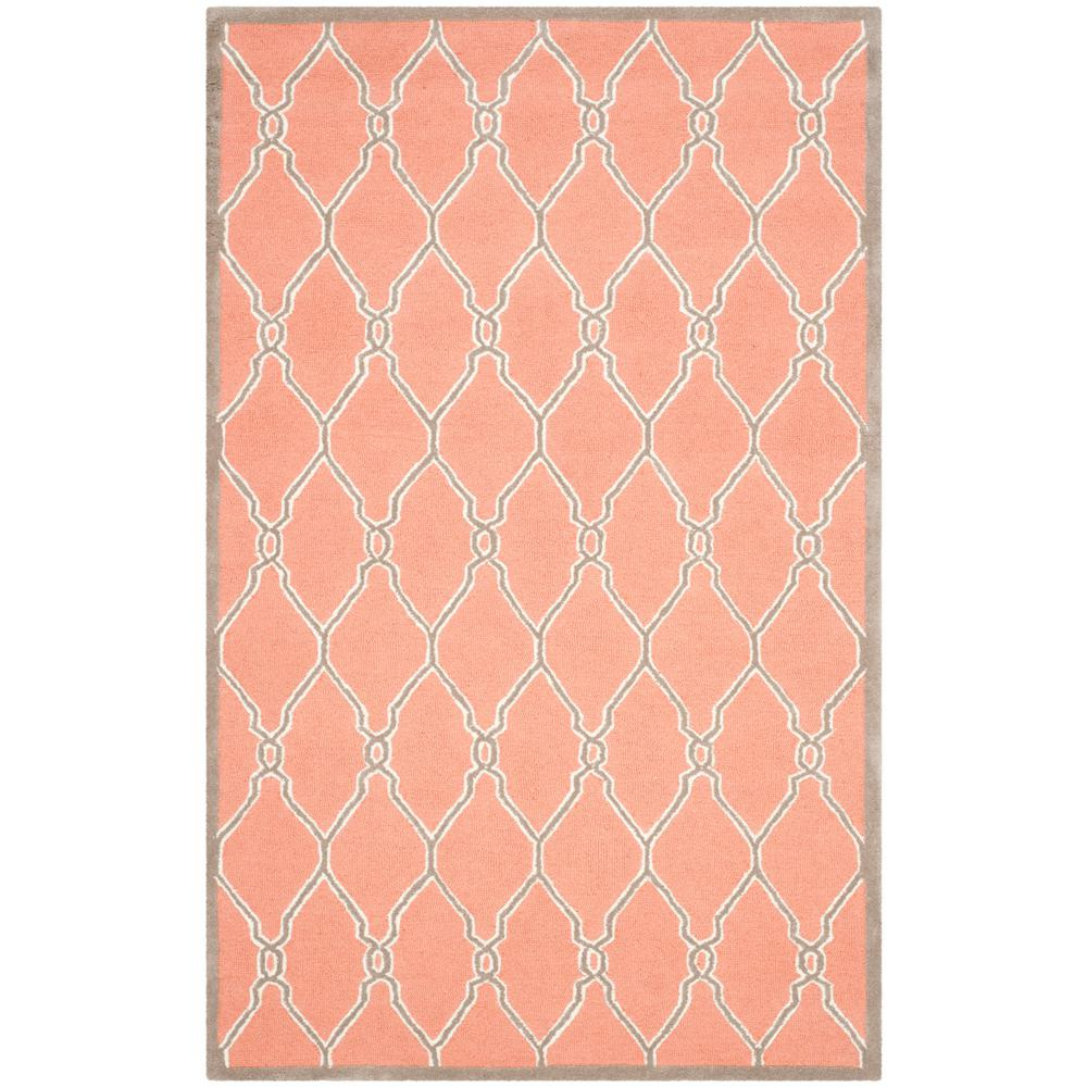 Cambridge Coral/Ivory 5 ft. x 8 ft. Area Rug