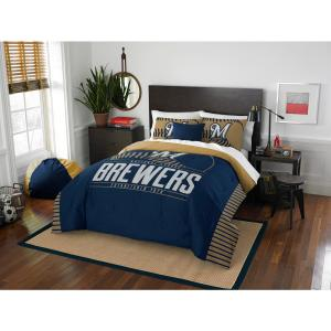 Brewers 3-Piece GrandSlam Multi Full and Queen Comforter Set by