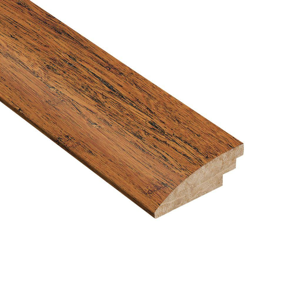 Home Legend Strand Woven Antiqued 1/2 in. Thick x 1-7/8 in. Wide x 78 in. Length Bamboo Hard Surface Reducer Molding