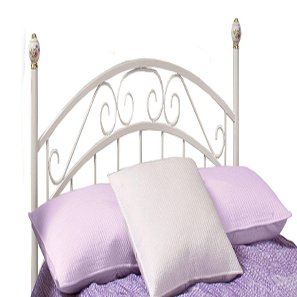 Hillsdale Furniture Emily White Full-Size Headboard with Rails
