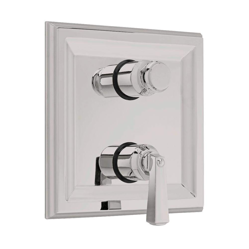 Town Square 2-Handle Thermostat Valve Trim Kit with Separate Volume Control