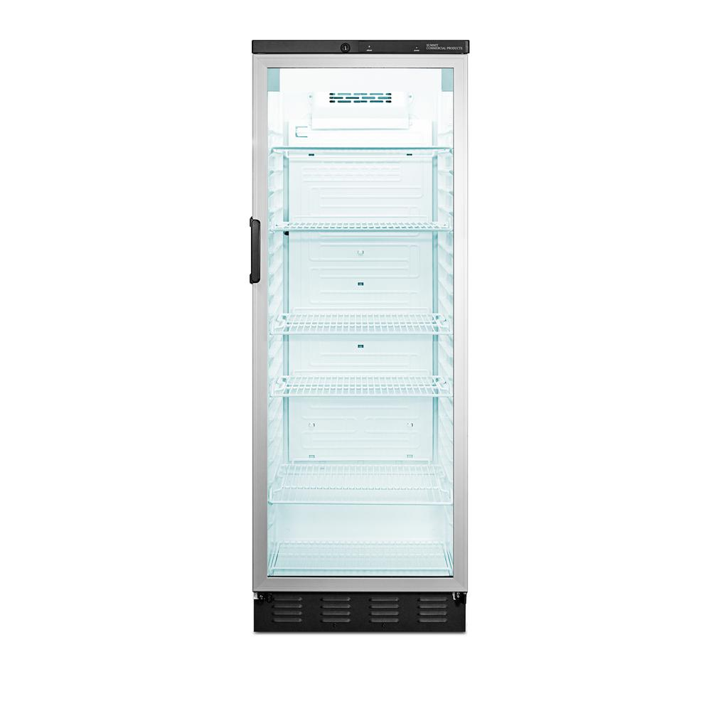 Summit Appliance Commercial 13 cu. ft. Glass Door All-Refrigerator in White