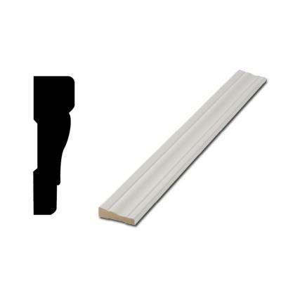 WM356 11/16 in. x 2-1/4 in. MDF Door and Window Casing