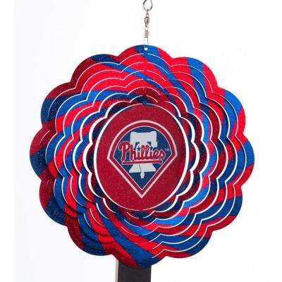 MLB 10 in. Philadelphia Phillies Geo Spinner