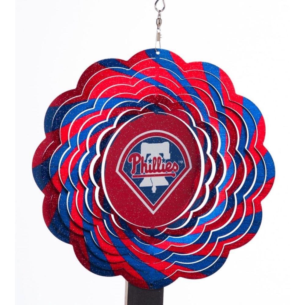 MLB 10 in. Philadelphia Phillies Geo Spinner