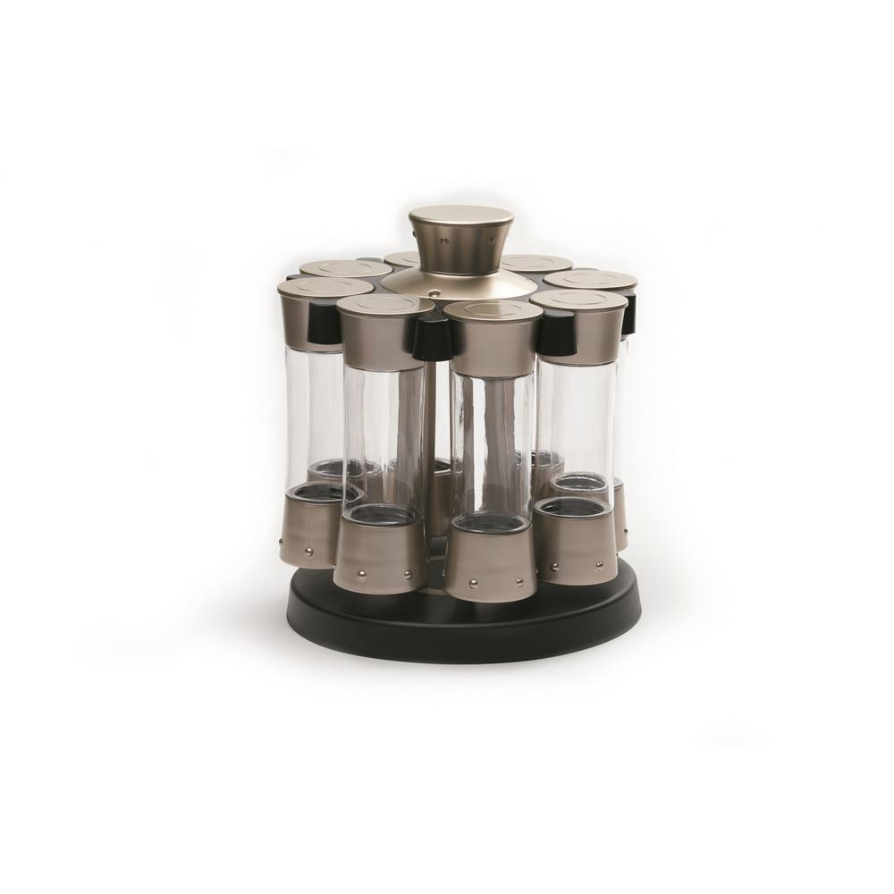 KitchenArt Elite Auto-Measure Spice Carousel 80070