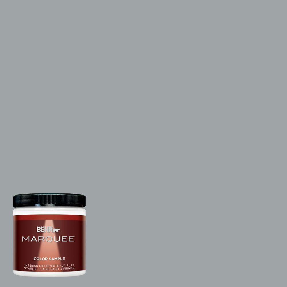 BEHR MARQUEE 8 oz. #MQ5-30 Silent Film Interior/Exterior Paint Sample