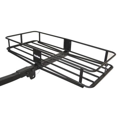 Paramount Restyling 7700 Non-Folding Hitch Mount Cargo Basket for 2 Hitch Receivers