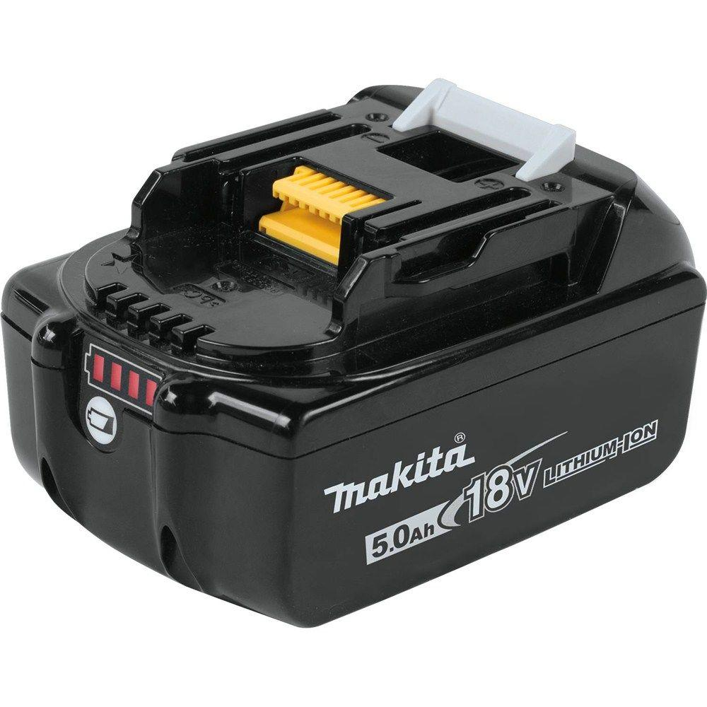 makita 18 volt lxt lithium ion high capacity battery pack 5 0ah with fuel gauge bl1850b the. Black Bedroom Furniture Sets. Home Design Ideas