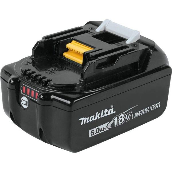 Makita-BL1850B 18V LXT Lithium-Ion 5.0 Ah Battery with Charge Indica