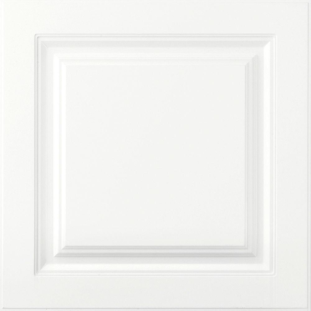 American Woodmark 14-9/16x14-1/2 in. Cabinet Door Sample in Newport White