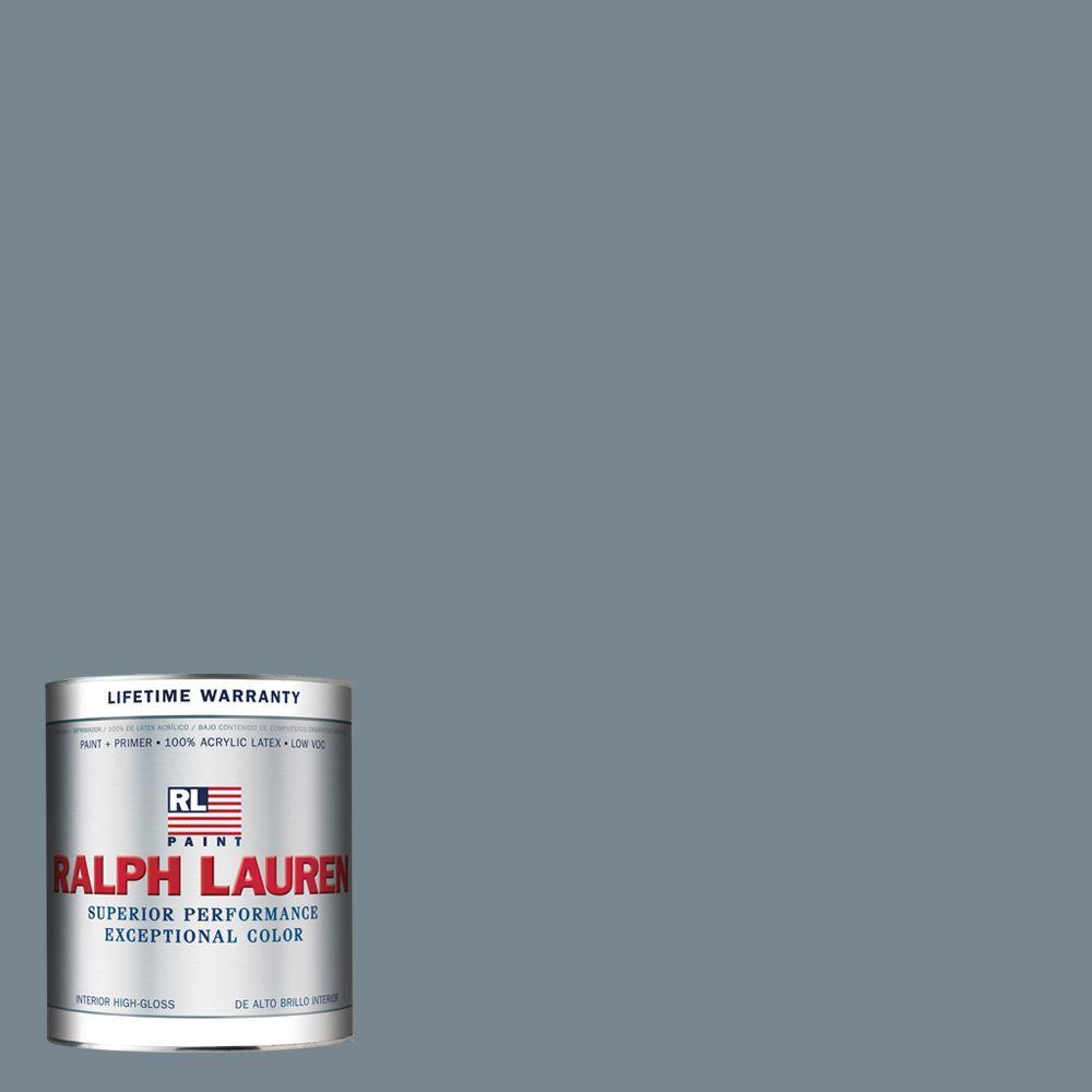 Ralph Lauren 1-qt. Roosevelt Blue Hi-Gloss Interior Paint